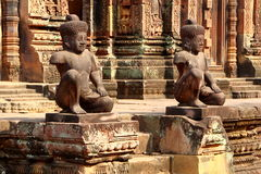 Banteay Srey, Angkor, Cambodia Royalty Free Stock Photo