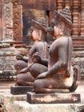 Banteay Srey, Angkor, Cambodia Royalty Free Stock Image