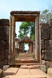 Banteay srey cravings. Ankor wat style temple built in the second half of the 12th century in cambodia siem reap ankorian period stock photography