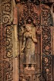 Banteay Srey inCambodia Fotografia Stock