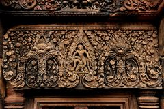 Banteay Srey inCambodia Royalty Free Stock Photography