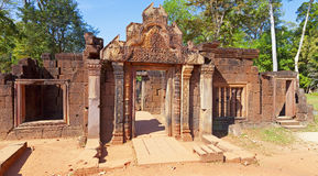 Banteay Srey Temple Stock Image