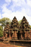 Banteay Srey temple, Angkor area, Siem Reap, Cambodia Stock Photography