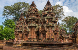 Banteay Srey Temple Stock Photo