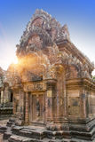 Banteay Srey Temple ruins Xth Century , Siem Reap, Cambodia.  Stock Images