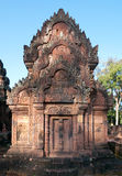 The Banteay Srey Temple in Siem Reap, Cambodia. Building at the Banteay Srey Temple in Siem Reap, Cambodia Royalty Free Stock Photography