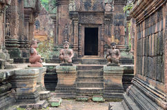 Banteay Srey temple Royalty Free Stock Photo