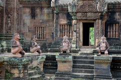 Banteay Srey temple Royalty Free Stock Photography