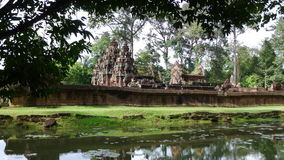 Banteay Srey temple Royalty Free Stock Images