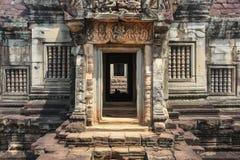 Bantei Samre temple, Angkor city Royalty Free Stock Photography