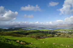 Bantry Bay from Seskin Hill Royalty Free Stock Images