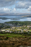 Bantry Bay from Seskin Hill. In West Cork Ireland Stock Photo