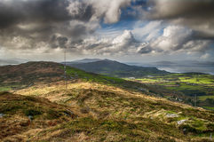 Bantry Bay from Seskin Hill Royalty Free Stock Photo