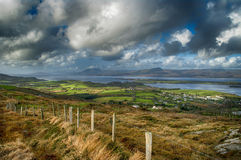Bantry Bay from Seskin Hill Royalty Free Stock Photography
