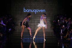 Banu Guven Catwalk Royalty Free Stock Photos