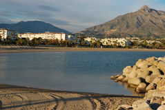 Banus beach Royalty Free Stock Photography