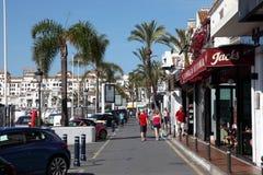 banus marbella puerto西班牙 库存图片