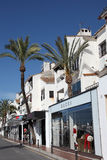 banus marbella puerto西班牙 免版税图库摄影