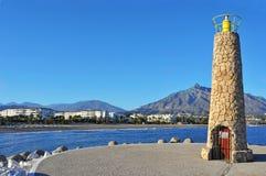 banus Marbella puerto Spain obraz stock