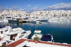 banus marina puerto Obrazy Royalty Free