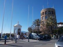 Banus Port-Marbella-Andaluci-Spanien Arkivfoto
