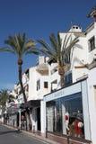banusmarbella puerto spain royaltyfri fotografi