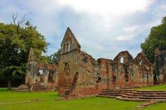 BanWichayen in Lopburi, Tailandia Fotografia Stock