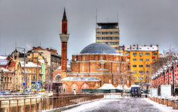 Banya Bashi Mosque in Sofia Royalty Free Stock Image