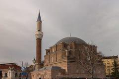 Banya Bashi Mosque in Sofia, Bulgaria. Banya Bashi former Ottoman Mosque in Sofia, Bulgaria stock images