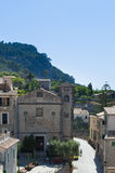 Banyalbufar. Village in Majorca Royalty Free Stock Photography