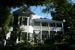 Banyan house Stock Photo