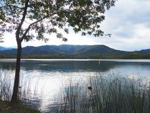 banyoles λίμνη στοκ φωτογραφίες
