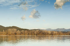 Banyoles Lake Royalty Free Stock Image