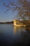 Banyoles Lake, Girona, Cat, Stock Image