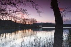 Banyoles lake, Girona, Catalonia, Spain Royalty Free Stock Photos