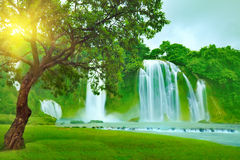 Free Banyue Waterfall Stock Images - 11086674