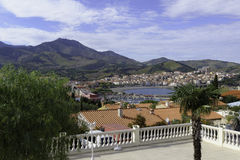 Banyuls Panorama Stock Photo