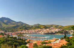 Banyuls Panorama Stock Photos