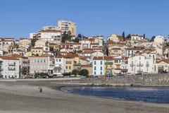 Banyuls sur mer,Occitanie,France. Royalty Free Stock Photos