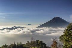 Banyumas Indonésie d'ajibarang de nangga de cascade Photographie stock