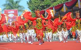 Banyuwangi carnival Royalty Free Stock Photo