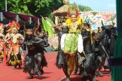 Banyuwangi Ethno Carnival Royalty Free Stock Photos
