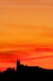 Banz abbey sunset Stock Photos