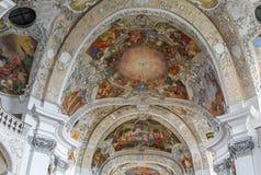 Banz abbotskloster, Tyskland Arkivbild
