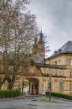 Banz abbotskloster, Tyskland Arkivfoton