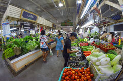 Banzaan Market in Patong. Banzaan Market is a covered market in Patong, Phuket, Thailand Royalty Free Stock Photos