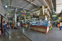 Banzaan Market in Patong. Banzaan Market is a covered market in Patong, Phuket, Thailand Stock Photo