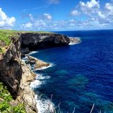 Beautiful Landscape. Banzai Cliff. Saipan Stock Photography