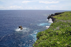 Banzai cliff in Saipan Royalty Free Stock Photos