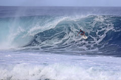 Banzai Pipeline Barrel Stock Photos